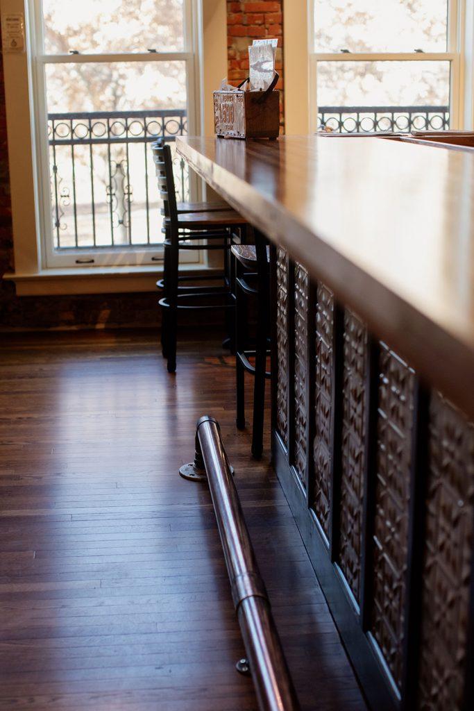 Asylum Bar footrest