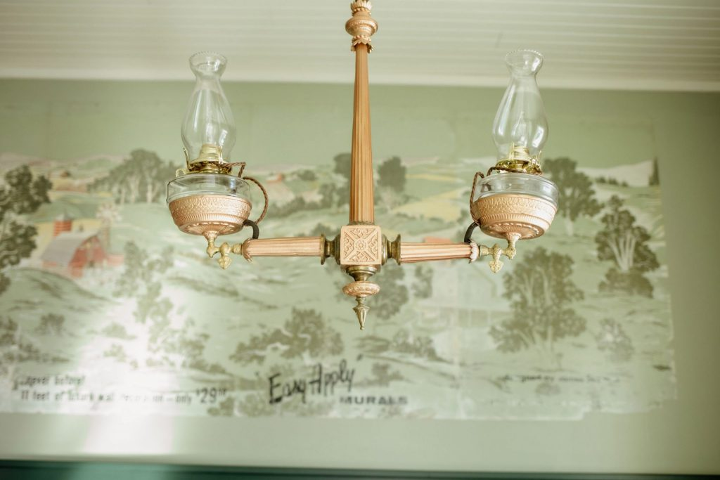 Upstairs Light fixture
